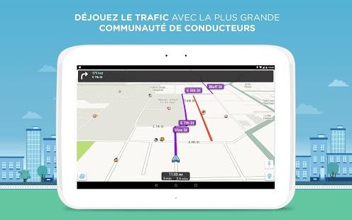 Capture d'écran Waze Social GPS Maps