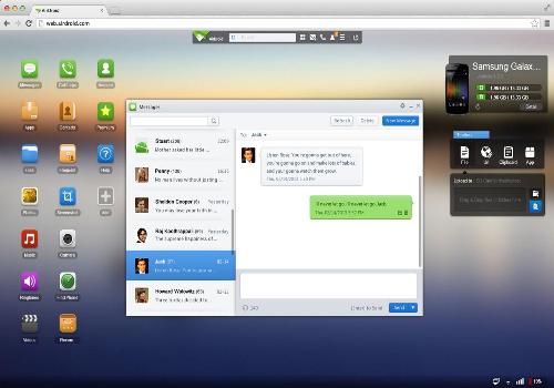 Capture d'écran Airdroid