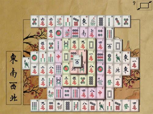 Capture d'écran Mahjong In Poculis