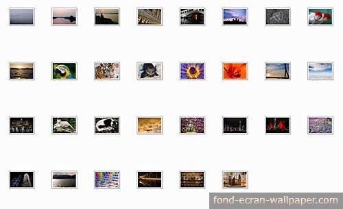 Capture d'écran 30 Fonds d'Ecran PDF Volume 1