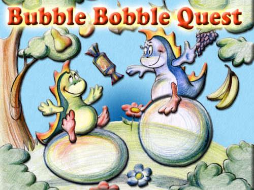 Capture d'écran Bubble Bobble Quest