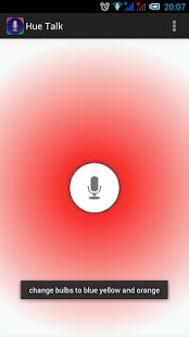 Capture d'écran Hue Talk