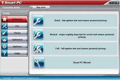 Capture d'écran PC Optimization Suite