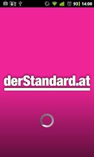 Capture d'écran DerStandard.at