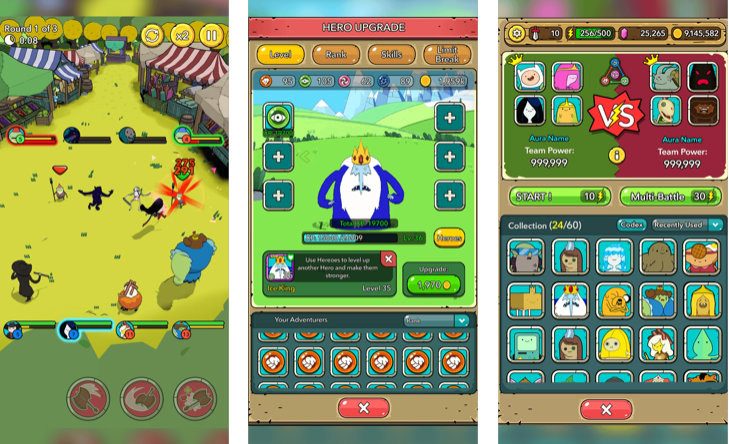 Capture d'écran Adventure Time Heroes iOS
