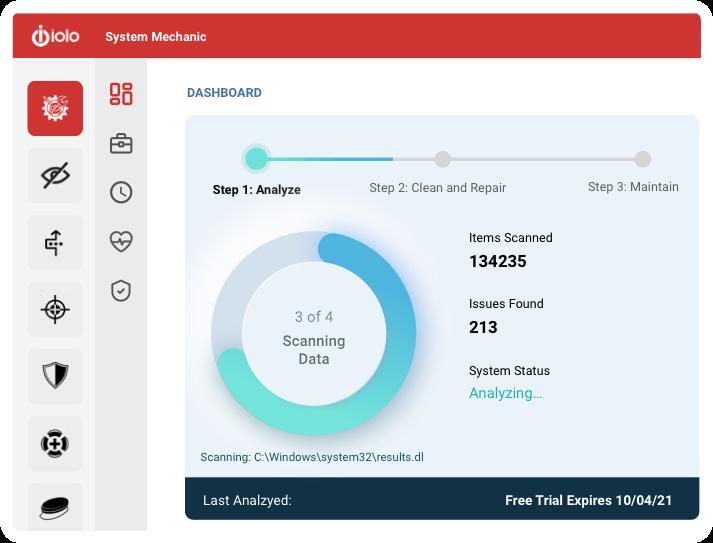 Capture d'écran System Mechanic Free