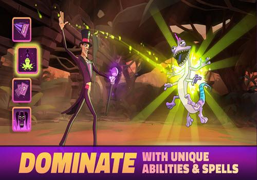 Capture d'écran Disney Sorcerer's Arena iOS