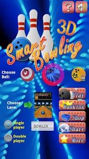 Capture d'écran Bowling intelligente