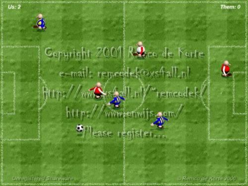 Capture d'écran SoccerSaver