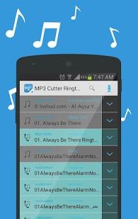 Capture d'écran MP3 Cutter Free Ringtone Maker