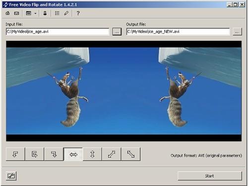 Capture d'écran Free Video Flip and Rotate