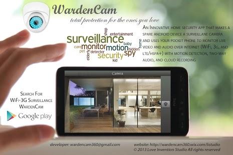 Capture d'écran Caméra espion de surveillance