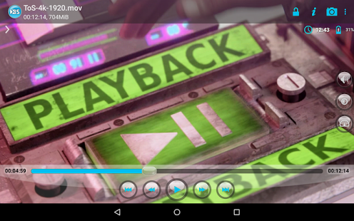 Capture d'écran BSPlayer FREE