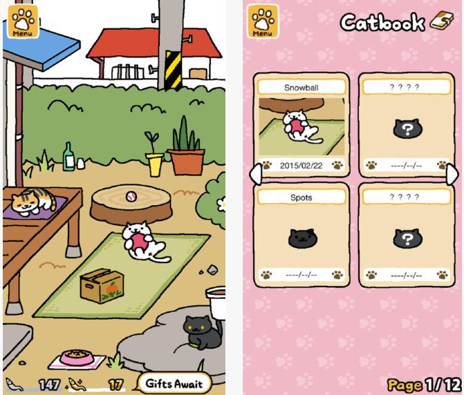Capture d'écran Neko Atsume: Kitty Collector iOS