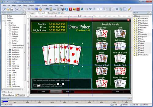 Capture d'écran AutoPlay Media Studio