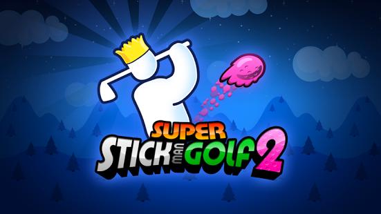 Capture d'écran Super Stickman Golf 2