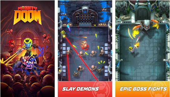 Capture d'écran Mighty Doom