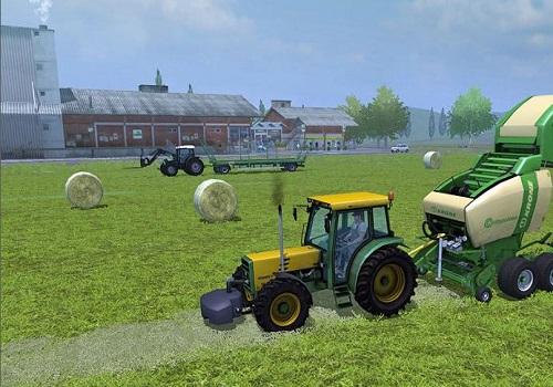 Capture d'écran Farming Simulator 14