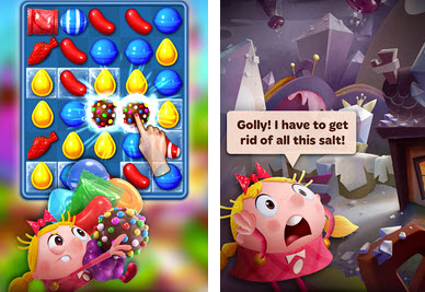 Capture d'écran Candy Crush Tales