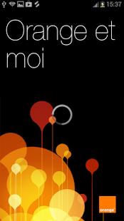 Capture d'écran Orange et moi Sénégal