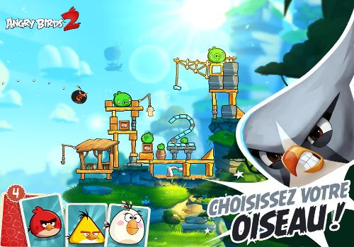 Capture d'écran Angry Birds 2 iOS