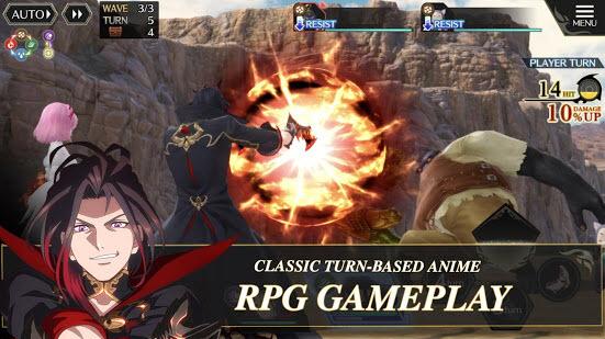 Capture d'écran Tales of Crestoria iOS
