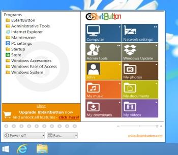Capture d'écran 8StartButton