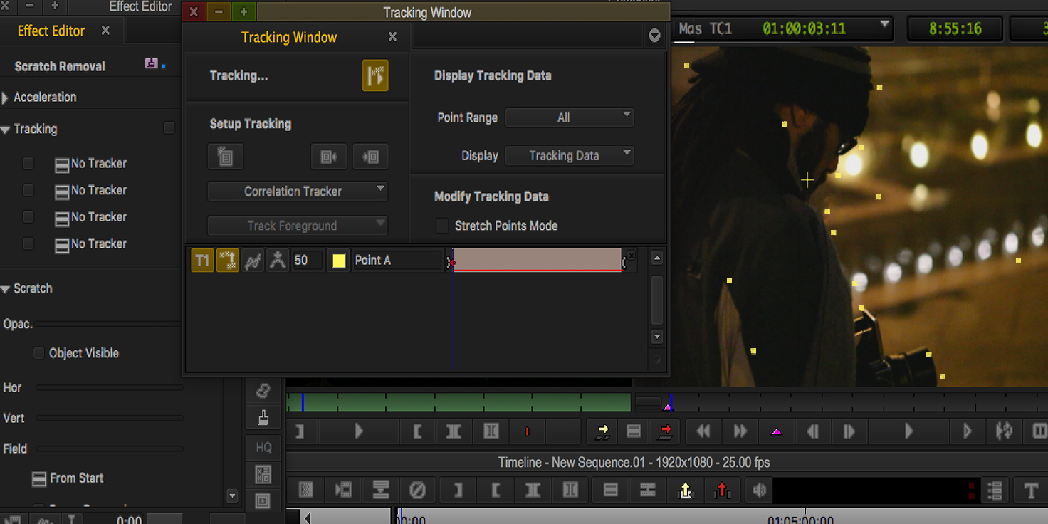 Capture d'écran Media Composer First Mac