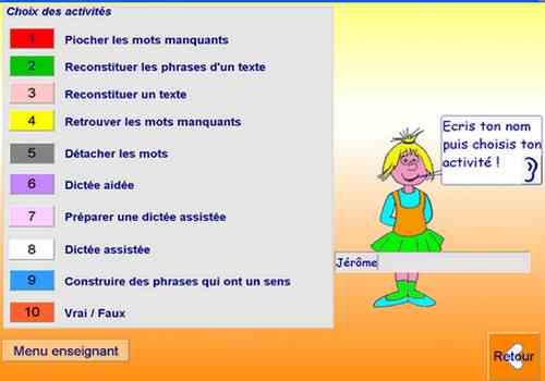 Capture d'écran Itinéraire Pour Apprendre à Lire et à Ecrire v1 /2013