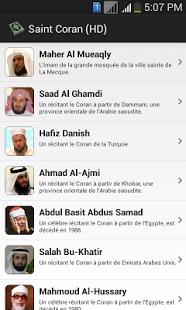 Capture d'écran Saint Coran (HD)