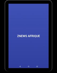 Capture d'écran ZNews Afrique