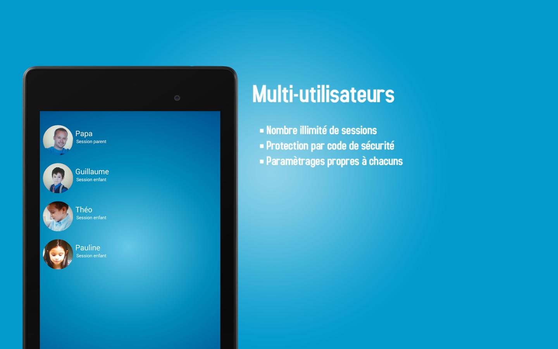 Capture d'écran PDLP Control Parental Android