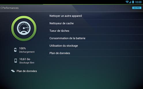 Capture d'écran AntiVirus FREE pour tablette