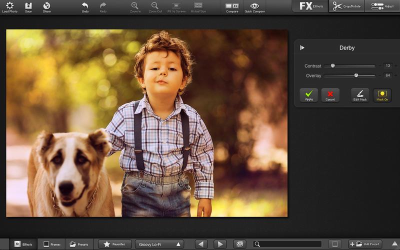 Capture d'écran FX Photo Studio Pro