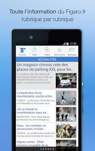 Capture d'écran Le Figaro.fr – Actualités