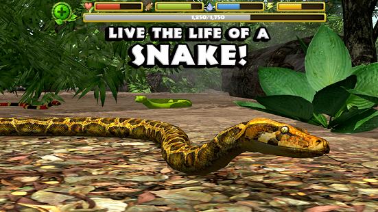 Capture d'écran Snake Simulator