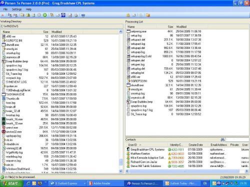 Capture d'écran PTP Security