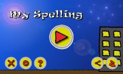 Capture d'écran My Spelling