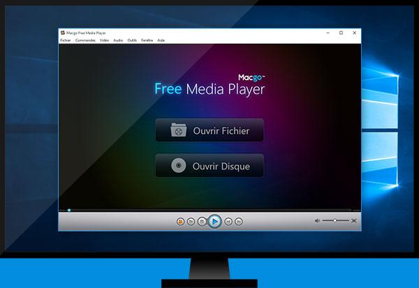 Capture d'écran Macgo Free Media Player