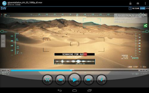 Capture d'écran BSPlayer Free Android