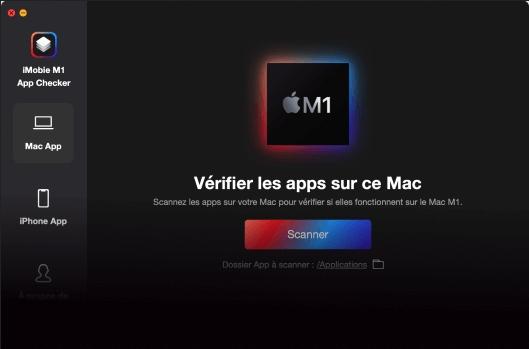 Capture d'écran iMobie M1 App Checker