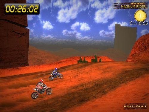 Capture d'écran Desert Moto Racing