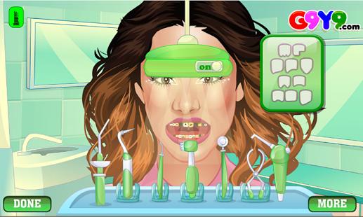 Capture d'écran Chirurgie fille de dentiste