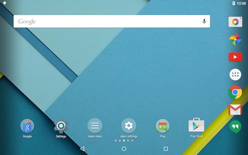 Capture d'écran Apex Launcher