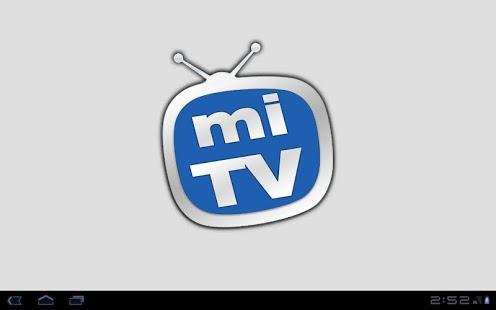 Capture d'écran Mi Televisión