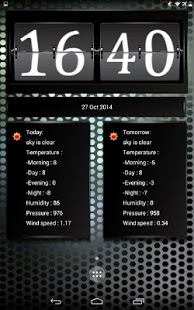 Capture d'écran Info station