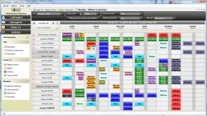 Capture d'écran Planning