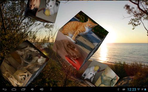 Capture d'écran Photos volant Wallpaper Lite