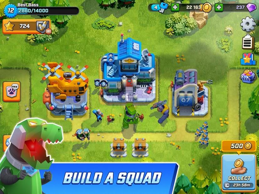 Capture d'écran Rush Wars Android