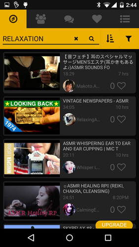 Capture d'écran Love ASMR Android